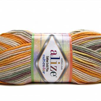 Cotton Gold Multicolor 52176